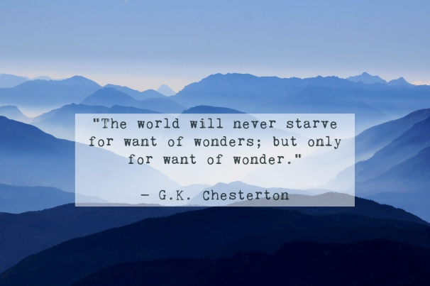 GK Chesteron Quote