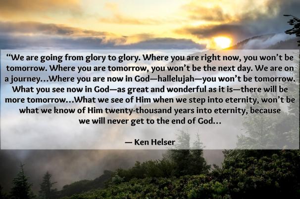 Ken Helser Quote